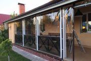 Мягкие окна для уличных кафе и ресторанов