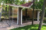 Мягкие окна для укрытия техники, садово-парковых скульптур, дровников, садовых качелей